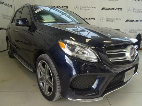 Certified Pre-Owned 2017 Mercedes-Benz GLE GLE400 4MATIC SUV
