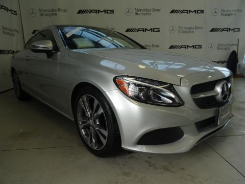 Certified Pre-Owned 2017 Mercedes-Benz C-Class C300 Sport 4MATIC