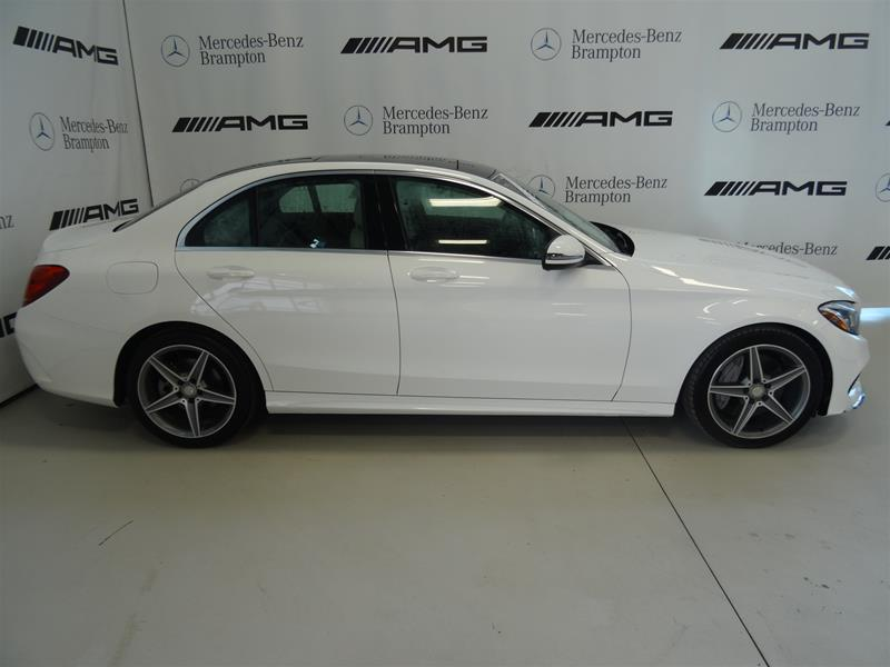 Certified Pre-Owned 2016 Mercedes-Benz C-Class C300 Sport 4MATIC