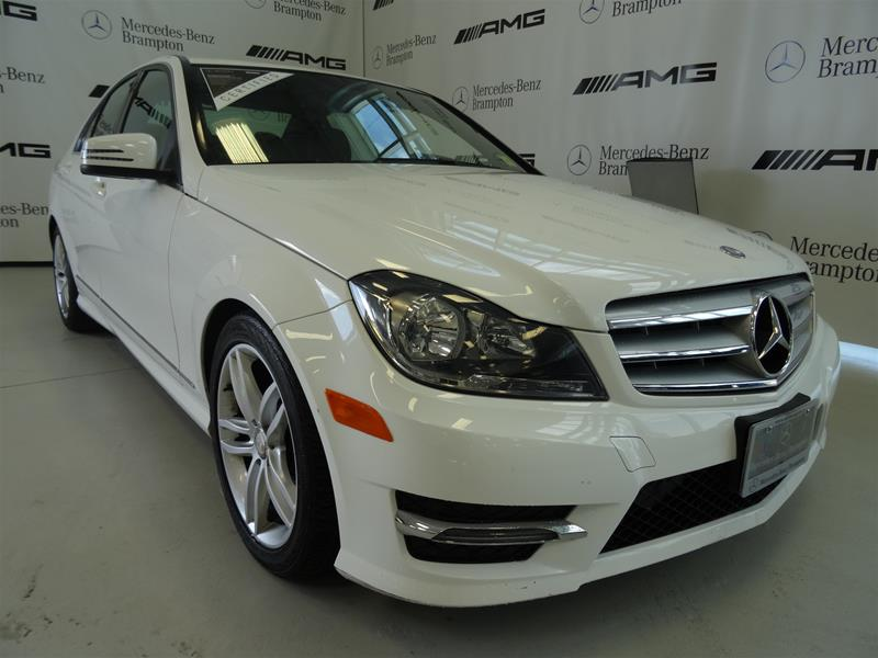 Certified pre owned 2013 mercedes benz c class c300 sport for 2013 mercedes benz c300 sport