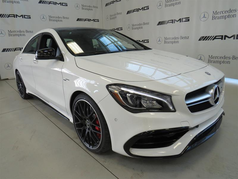 New 2019 Mercedes Benz CLA CLA45 AMG 4MATIC