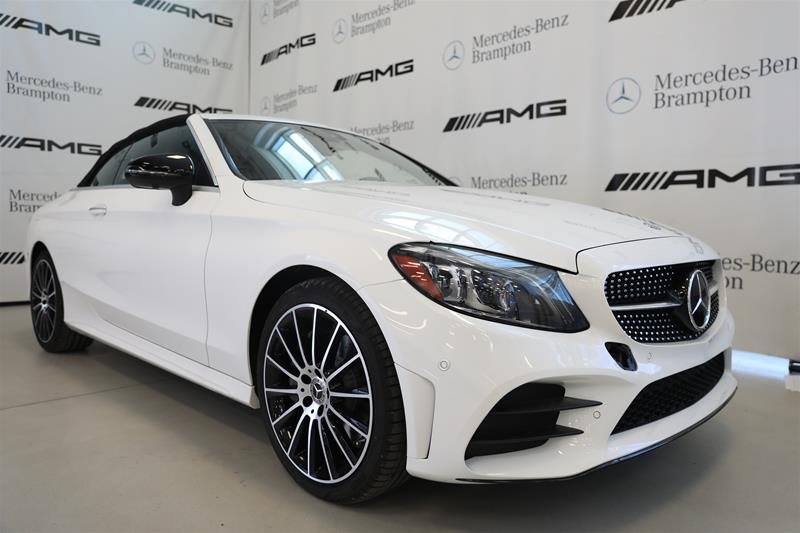 New 2020 Mercedes Benz C300 Sport 4matic Cabriolet