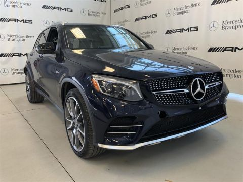 New 2019 Mercedes-Benz GLC GLC43 AMG 4MATIC SUV