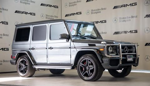 Certified Pre-Owned 2015 Mercedes-Benz G63 AMG SUV